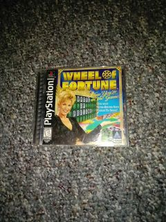 Wheel of fortune on PlayStation