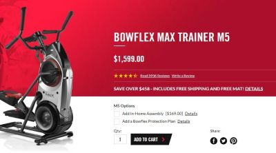 Bowflex Max Trainer Will Kick Your Butt! Best Offer Over $600 Takes It!