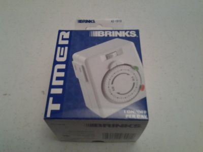 *NEW* Mechanical Household Indoor Outlet Timer (price each)