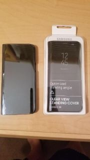 Samsung Galaxy S8 clear view standing cover