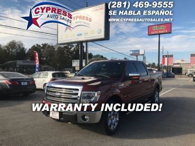 2014 Ford F150 4WD KING RANCH 4DR CREW CAB P/U