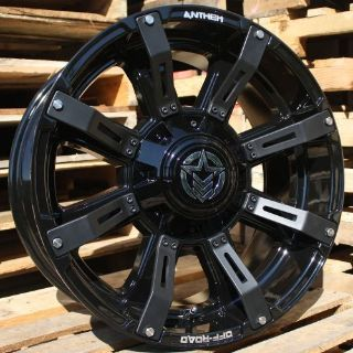 Purchase 20x9 Gloss Black Anthem Defender A711 5x5 & 5x5.5 -12 Rims 275/65/20 Tires motorcycle in Saint Charles, Illinois, United States, for US $2,160.62