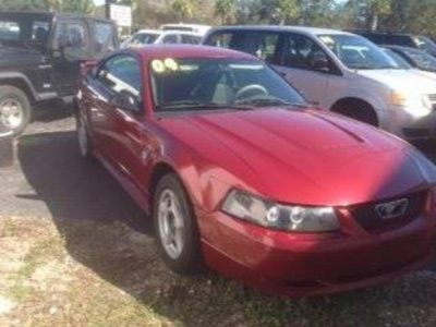 2004 Ford Mustang Base (Red)