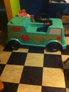 $1, ONE OF A KIND... .Scooby Doo electric riding toy