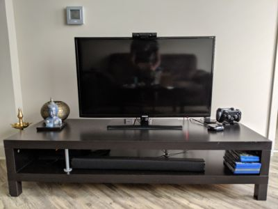 TV and TV stand for sale