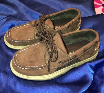 Boys Sperry Intrepid Top Siders - Size 2
