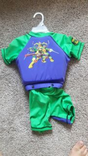Ninja turtle (for swimming)size s-m 2-4yrs