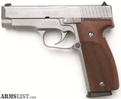 "For Sale: KAHR ARMS T40 40 S&W 4"" STAINLESS 7+1 * STEEL FRAME"