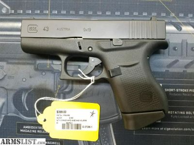 For Sale: Glock 43 - CHECK OUT OUR TAX TIME SPECIALS!