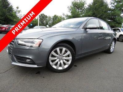 2013 Audi A4 2.0T quattro Premium (gray)