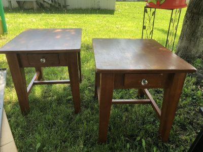 Side tables from world market