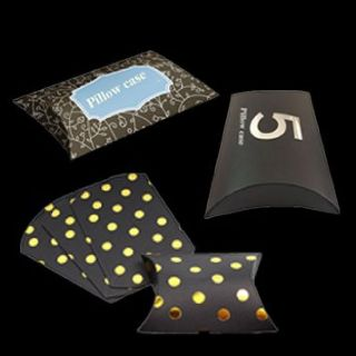 Get Custom Printed Small Gift Pillow Boxes