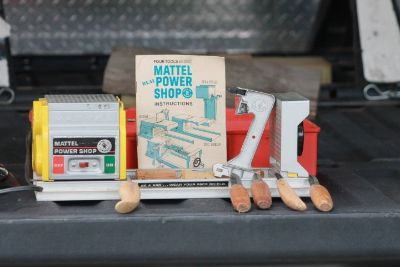 Vintage Mattel Power Shop