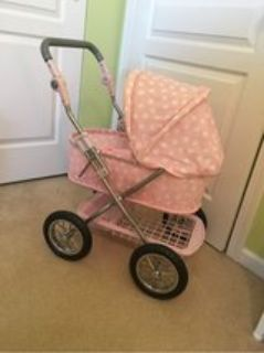 pottery barn doll carriage