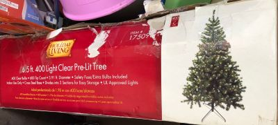 Christmas tree new in box