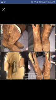 Women's Levi cowgirl boots size 10