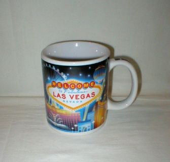 Welcome to Fabulous Las Vegas, Nevada Coffee Mug Cup - Monuments of Las Vegas