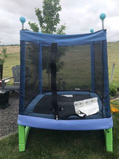 Little Tikes Enclosed Trampoline- good condition