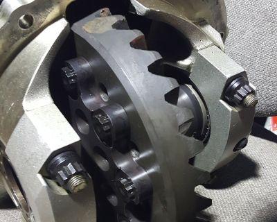 MW 9 inch, Alum bolt thru,4.56 Gear