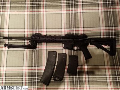 For Sale: Stag 2TL Left Handed AR- Low rounds Lots of Goodies!