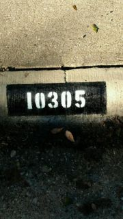 CURB ADDRESS PAINTINGS