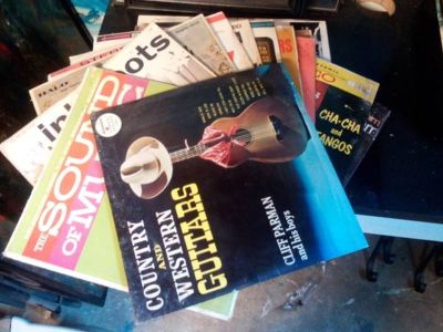Records from the 40s 50s and 60s for sale!