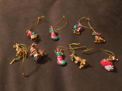 9 Cute Small Scooby Doo Christmas Ornaments