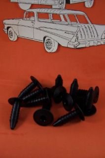 1957 Chevy Trunk Rubber With Clips Belair Sedan Hardtop Convertible New