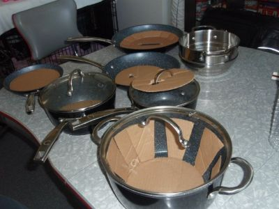 Pots and Pans (Curtis Stone Cookware)