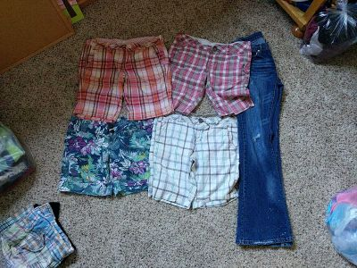 Size 5/6 shorts and pants lot