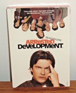 NEW Arrested Development Season One DVD 3 Disc Box Set Comedy SEALED 1 First