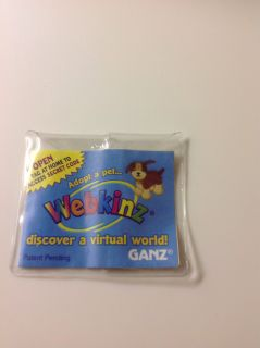 New unused Webkinz Code