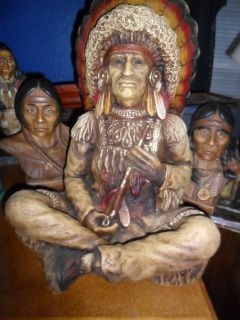 Indian Collection, Big Chief Statue