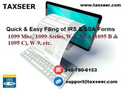 Facts about online filing of Form 1099-Misc, Miscellaneous Income (2019)