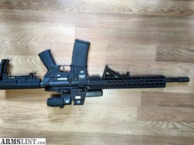 For Trade: Upgraded AR15
