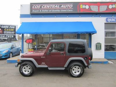 2004 Jeep Wrangler Sport (Flame Red)
