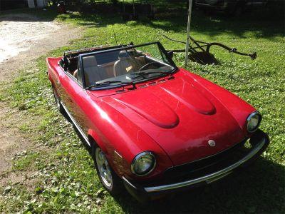 1981 Fiat 2000 Spider