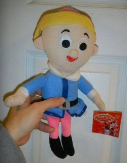 Hermey the Dentist Plush Doll NWT Rudolph Red Nose Reindeer Friends