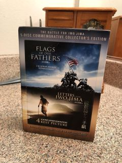 Set of 3 flags of the father dvd