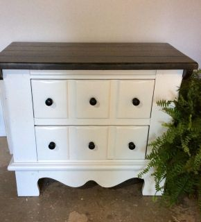 End table/ night stand solid pine redo 30w 16d 25h