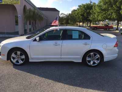 2011 Ford Fusion Sport (White)