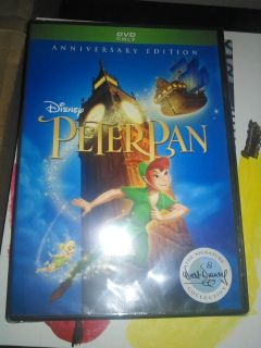 Peter pan anniversary edition dvd