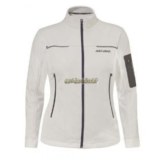 Buy Ski-Doo Ladies Technical Fleece Jacket - White motorcycle in Sauk Centre, Minnesota, United States, for US $69.99