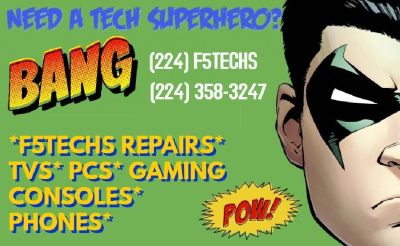 WICHITA GAME CONSOLE REPAIR www.F5TECHS.com