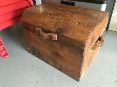 Solid Wood Trunk Hope Chest!