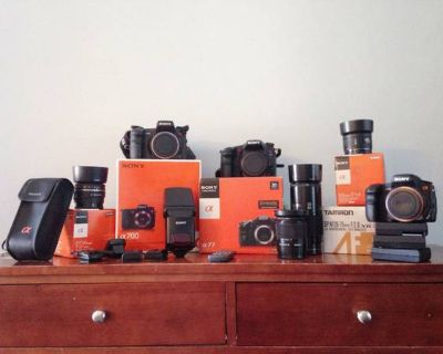 Sony a77, a700, and MORE