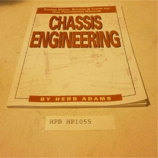 Sell HP Books HP1055 Reference Book CHASSIS ENGINEERING motorcycle in Decatur, Georgia, United States, for US $15.98