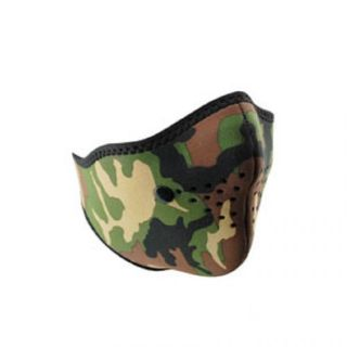 Purchase Neo-X Face Mask, Removable Filter, Woodland Camo motorcycle in Palatine, Illinois, United States, for US $6.00