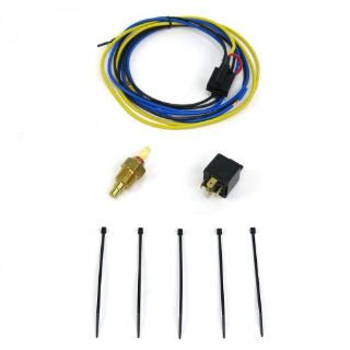Purchase Electric Cooling Fan Relay Kit with Thermostatcircuit motor closed plug wire motorcycle in Portland, Oregon, United States, for US $45.00