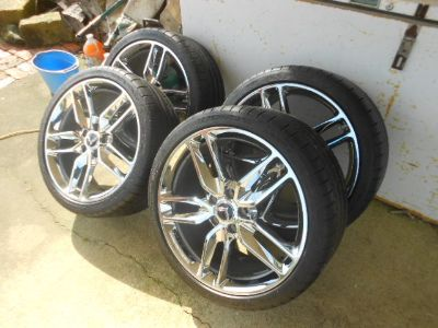 C7 Corvette Chrome Z51 rim/tires